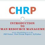 CHRP - Introduction to Human Resource Management
