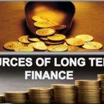Long term financing