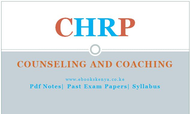 Counseling and Coaching Pdf notes, Past Papers, Syllabus