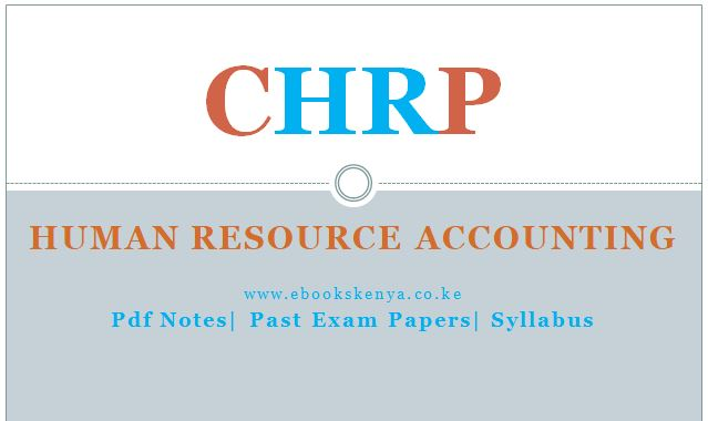 Human Resource Accounting Pdf notes, Past papers, Syllabus