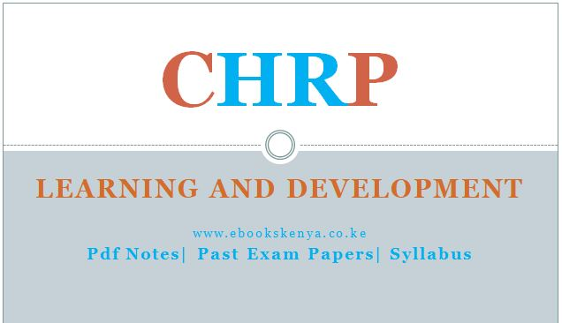 Learning and Development, Pdf notes, Past Papers, Syllabus