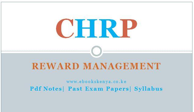 Reward Management, Pdf notes, Past Papers,Syllabus